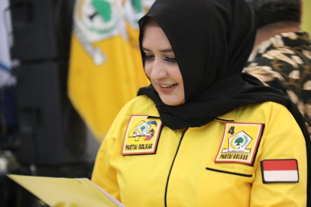 Ketua Golkar Kabupaten Pekalongan, Fadia Arafiq Dukung dan Perjuangkan Airlangga Jadi Capres 2024