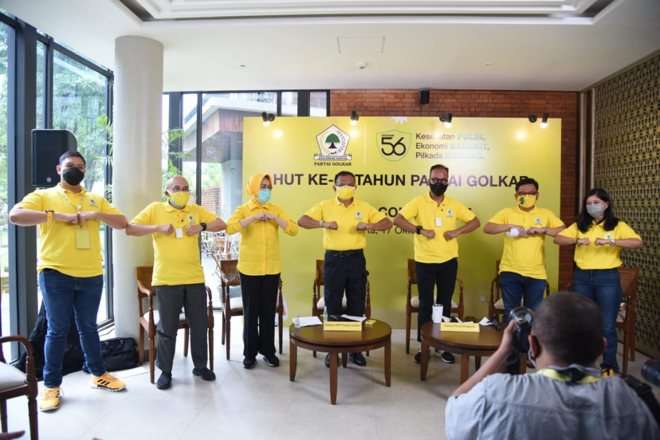 Optimalkan Platform Media Sosial, HUT Ke-56 Golkar Bakal Diramaikan 36 Ribu Kader Seluruh Indonesia