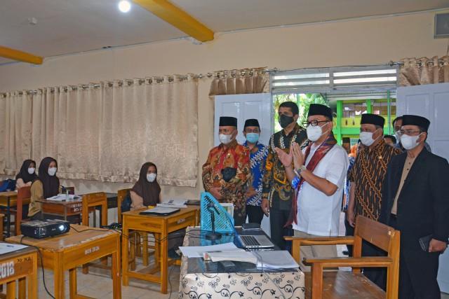 Ace Hasan Optimis Madrasah Tsanawiyah dan Aliyah di Kota Makassar Siap Hadapi PTM