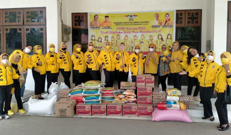 KPPG Sultra Salurkan Takjil dan Sembako Untuk Beberapa Panti Asuhan di Kota Kendari
