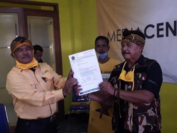 30 PK Golkar se-Bandung dan Ormas Pendiri Yang Didirikan Dukung Nia Dadang Nasser Jadi Bupati