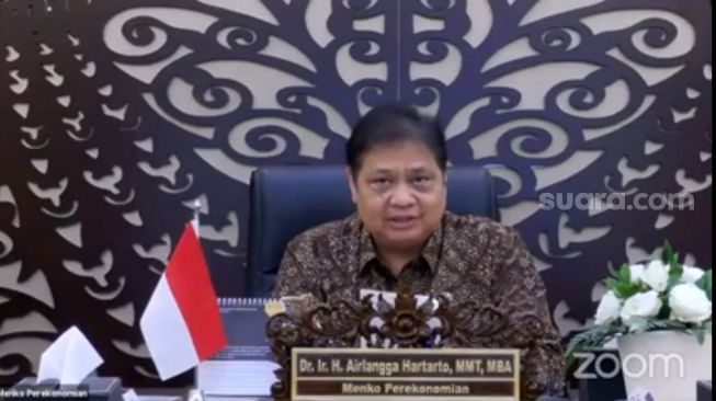 Airlangga Pede Ekonomi Indonesia Bakal Tumbuh 7 Persen di Kuartal II 2021
