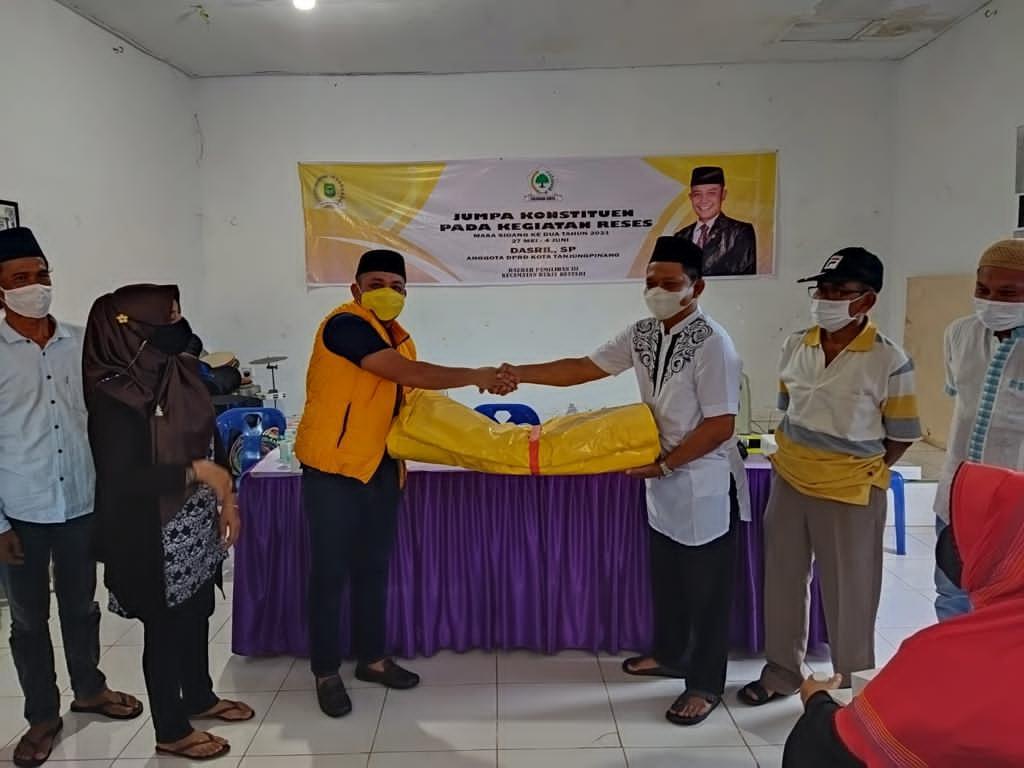 Dasril Resmi Gantikan Mimy Bety Jadi Ketua Fraksi Golkar DPRD Tanjungpinang