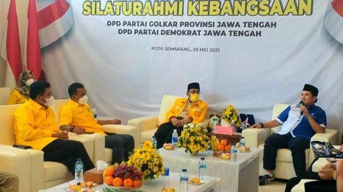 Panggah Susanto Pimpin Golkar Jateng Silaturahmi Kebangsaan Dengan PKS dan Demokrat