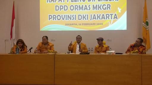 Basri Baco Tegaskan Ormas MKGR Dukung Ahmet Zaki Iskandar Pimpin Golkar DKI Jakarta