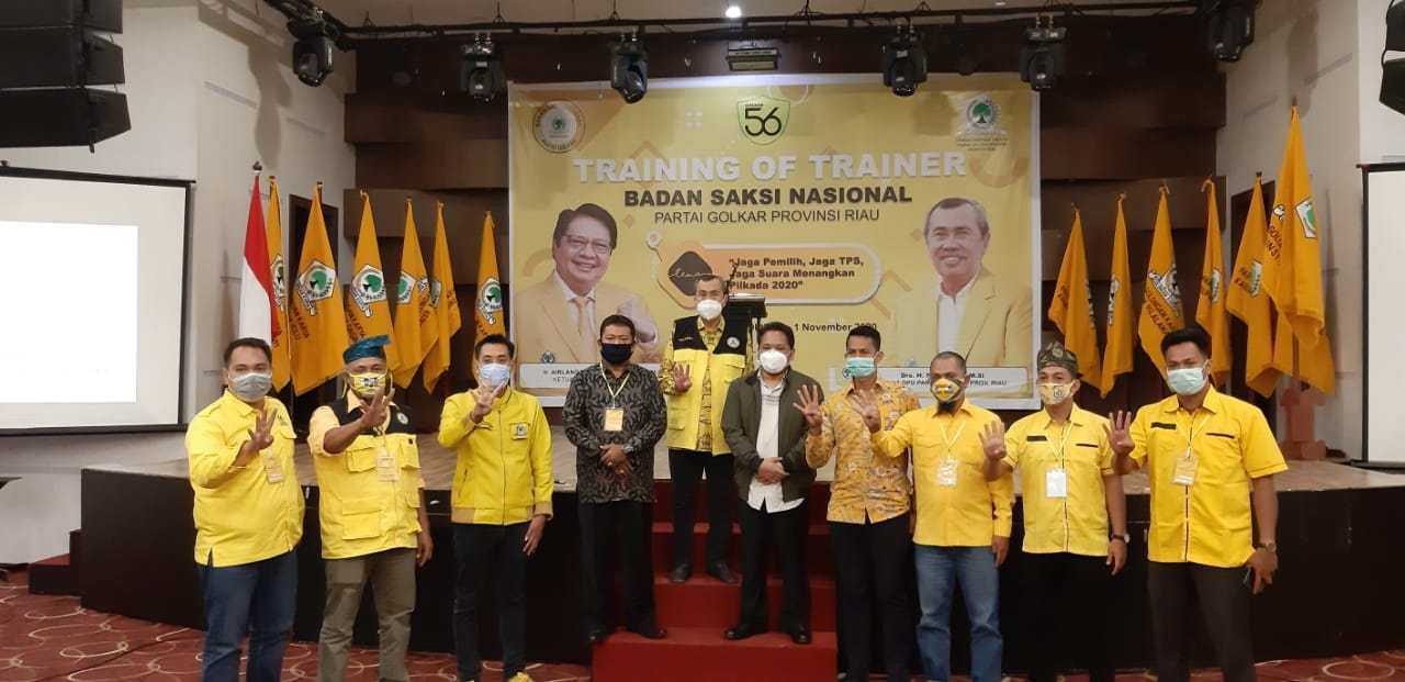 Golkar Bengkalis Siapkan 2.370 Saksi Menangkan Indra Gunawan Eet-Samsu Dalimunthe