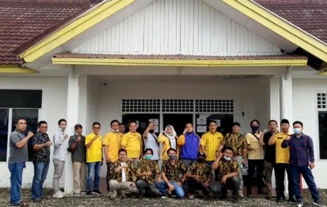 Amiril Fauzan Siap Jadikan AMPG Bengkulu Garda Terdepan Pemenangan Rohidin Mersyah
