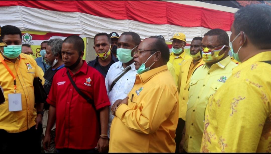 Banyak Pelanggaran, 5 Pemilik Suara Laporkan Musda Golkar Papua Barat Ke Mahkamah Partai