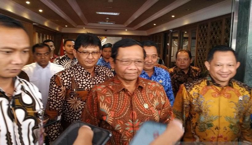 Doakan Jadi Presiden 2024, Ace Hasan Minta Mahfud MD dan Tito Karnavian Fokus Kerja