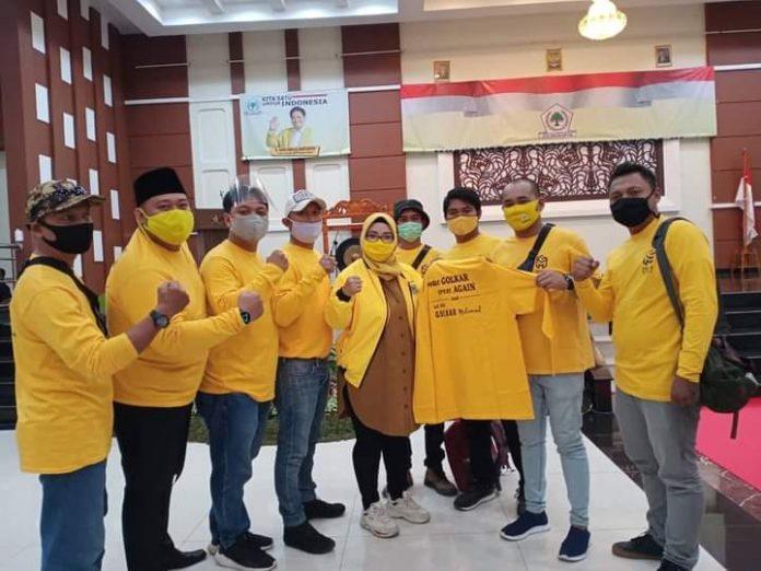 Ketua GEMA Ormas MKGR, Syahrul Ramadhan Tegaskan Golkar Kota Bekasi Solid