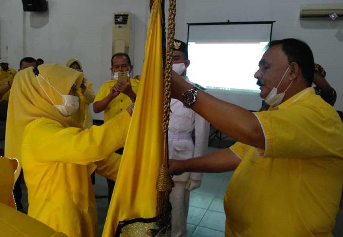 Elfia Rita Dewi Terpilih Aklamasi Pimpin Golkar Sawahlunto 2020-2025