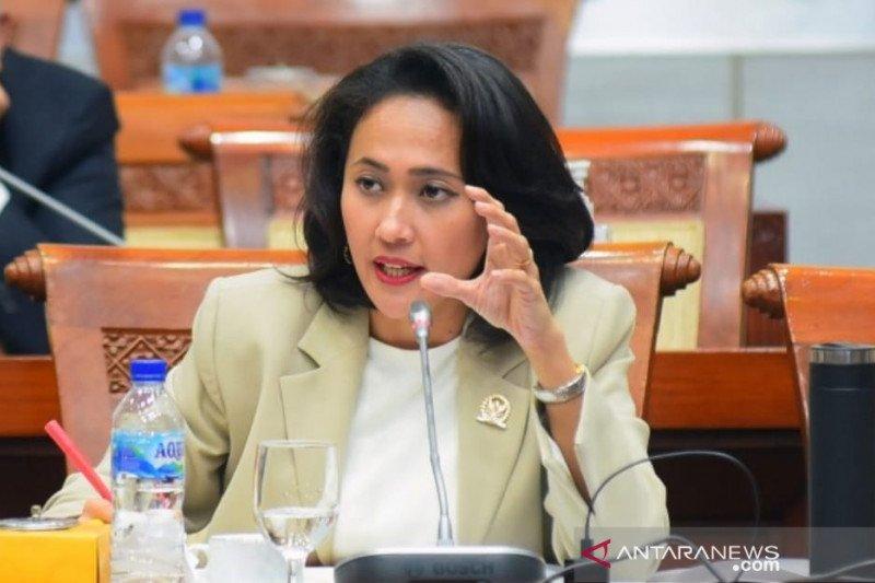 HUT TNI Ke-76, Christina Aryani Singgung Gangguan Kelompok Bersenjata Hingga Ancaman Perang Siber
