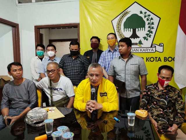 Rusli Prihatevy Pimpin Golkar Kota Bogor Pasang Ribuan Bendera di 6 Kecamatan 68 Kelurahan