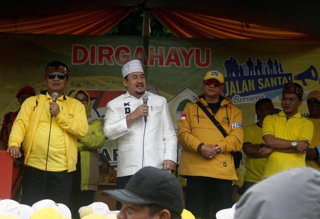 Ambisi Dadang Supriatna dan Deding Ishak Jadi Calon Bupati Bandung Dari Golkar