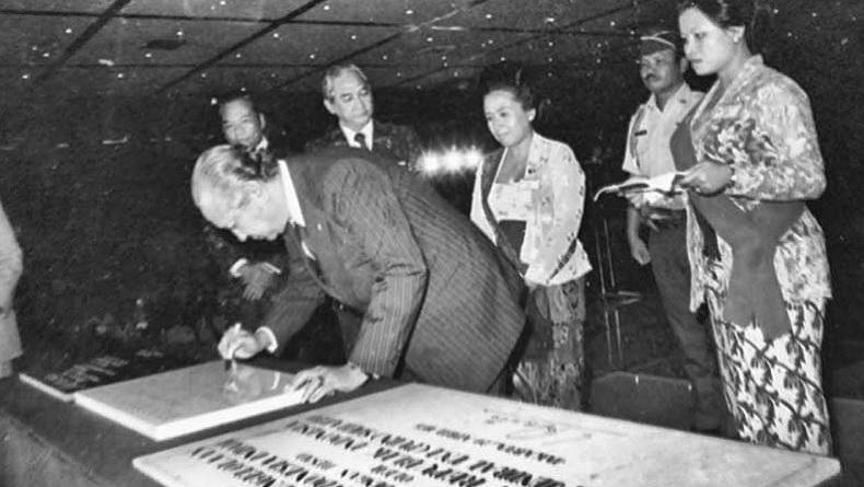 Soeharto, Taman Mini dan Supersemar