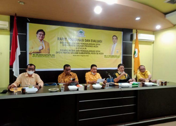 TM Nurlif Tegaskan Golkar Aceh Siap Menangkan Airlangga di Pilpres 2024 Dari Gampong Ke Gampong