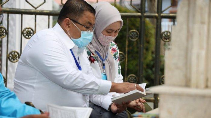 Terpilih Pimpin Golkar Banjarmasin, Yuni Abdi Nur Syukuran dan Ziarah ke Makam Abah H Sulaiman