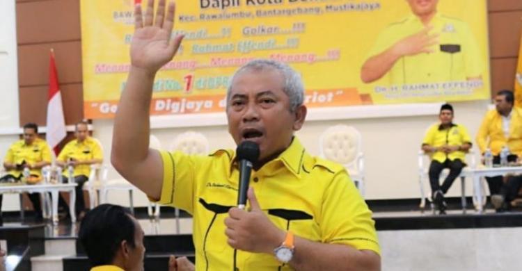 Rahmat Effendi Maju Lagi, Kaderisasi Golkar Kota Bekasi Dikhawatirkan Mandek