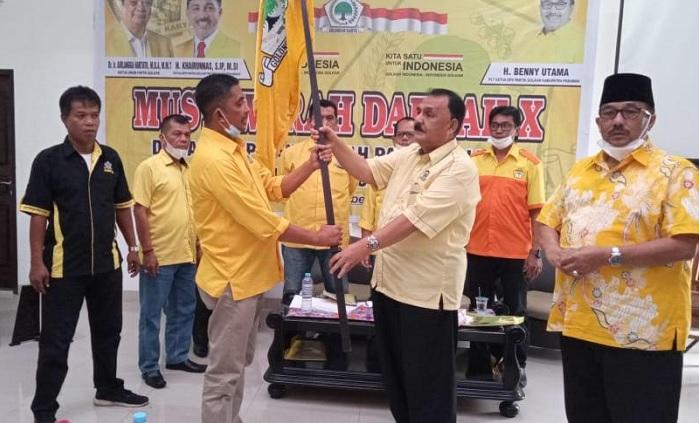 Syahrizal Yusuf Terpilih Aklamasi Pimpin Golkar Kabupaten Pasaman