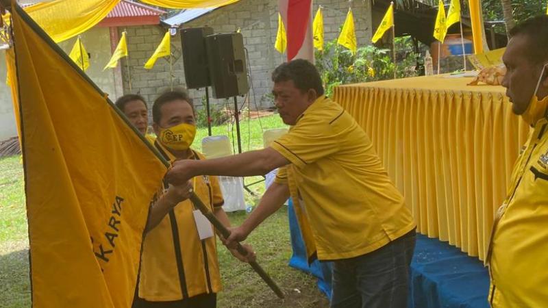 Denny Wowiling Kembali Terpilih Pimpin Golkar Minahasa Utara 2020-2025