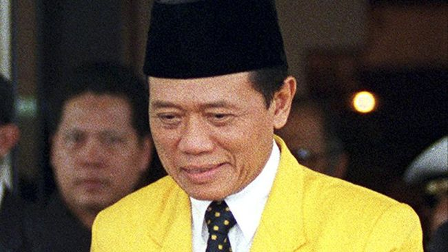 Agung Laksono: Harmoko Ketum Paling Rajin Ke Daerah Hingga Golkar Menang Telak Pemilu