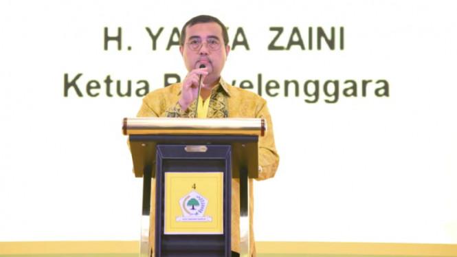 Yahya Zaini Minta Kader Golkar Terdepan Laksanakan Pembangunan Sesuai Nilai Pancasila