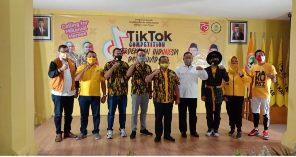 Sarmuji Terkejut Lihat Antusiasme Milenial Madura Unjuk Kreativitas Lewat Lomba Tiktok AMPG Jatim