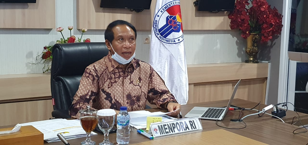 Menpora Zainudin Amali Putuskan Tunda PON XX Papua ke Oktober 2021