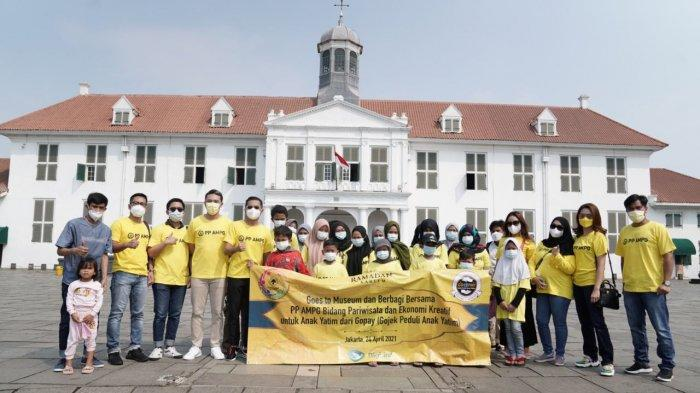 AMPG Ajak Anak-Anak Yatim Ngabuburit Ke Museum Wayang dan Museum Fatahillah