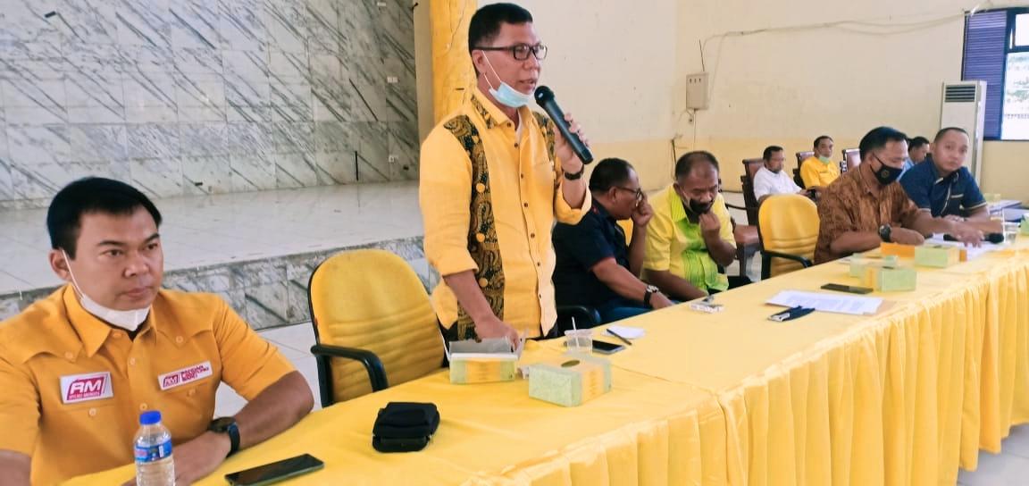 Gelar Rapat Pleno Diperluas, Aprozi Alam Umumkan Kepengurusan Baru AMPG Lampung
