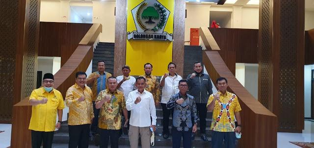 Ini Pesan Lodewijk Paulus Untuk Para Cakada Yang Diusung Golkar di 8 Pilkada se-Lampung