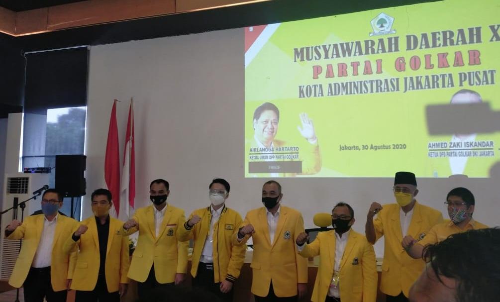 Calon Tunggal, Putra Baskara Baramuli Terpilih Jadi Ketua Golkar Jakarta Pusat