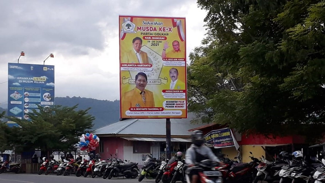 Maraknya Baliho Airlangga Wujud Soliditas Kader Golkar se-Indonesia Jelang 2024