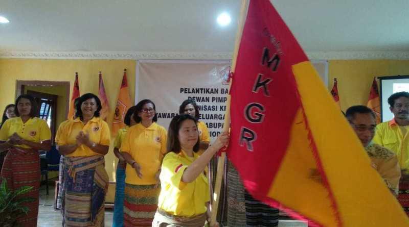 Ormas MKGR Siap Menangkan Pasangan Agus Taolin-Aloysius Heleserens di Pilkada Belu 2020