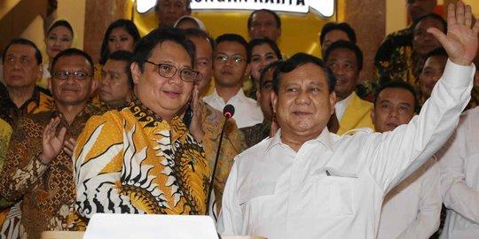 Survei Capres 2024 LSI Denny JA: Prabowo Masih Teratas, Airlangga Posisi 5 Dengan 5,3 Persen