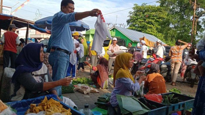 Pilkada Lamteng 2020, Musa Ahmad-Ardito Wijaya Blusukan Ke Plaza Bandar Jaya