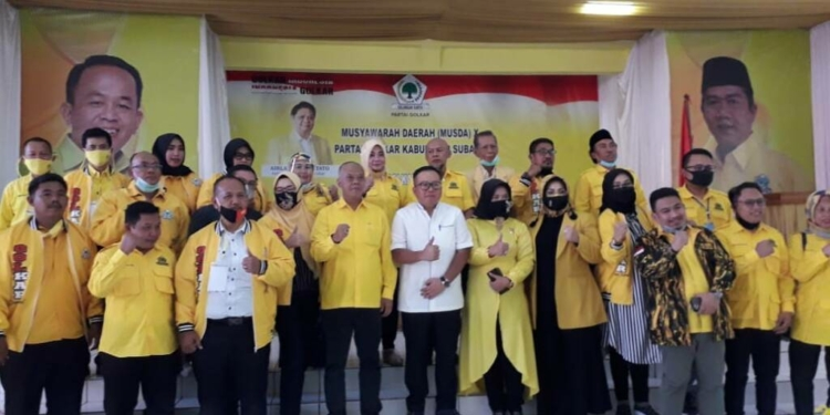 Elita Budiarti Tegaskan Kader Golkar Subang Harga Mati Dukung Airlangga di Pilpres 2024