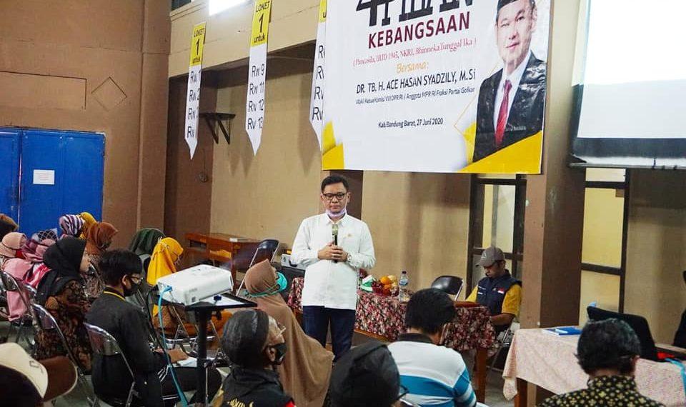 Ace Hasan Syadzily Ajak Masyarakat Bandung Barat Bijak Gunakan Medsos