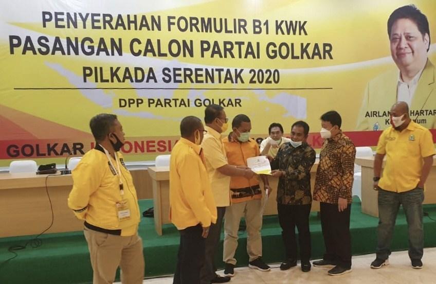 Golkar Usung Edistasius Endi dan Yulianus Weng di Pilkada Manggarai Barat