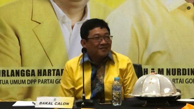 Incar Posisi Cawabup Toraja Utara, Victor Palimbong Tunggu Arahan DPP