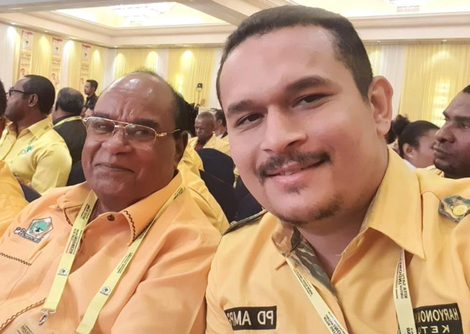Musda Golkar Papua Barat Tidak Sah, Haryono May Minta Robert Kardinal Setop Pecah Belah Kader