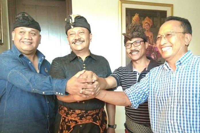 Demer Pimpin Golkar Bali Rekonsiliasi Wayan Gunawan dan Dewa Nida