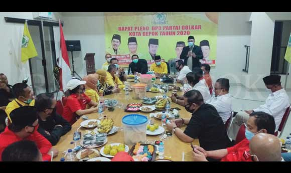 Disambangi Petinggi Gerindra dan PDIP, Golkar Jadi Rebutan di Pilkada Kota Depok