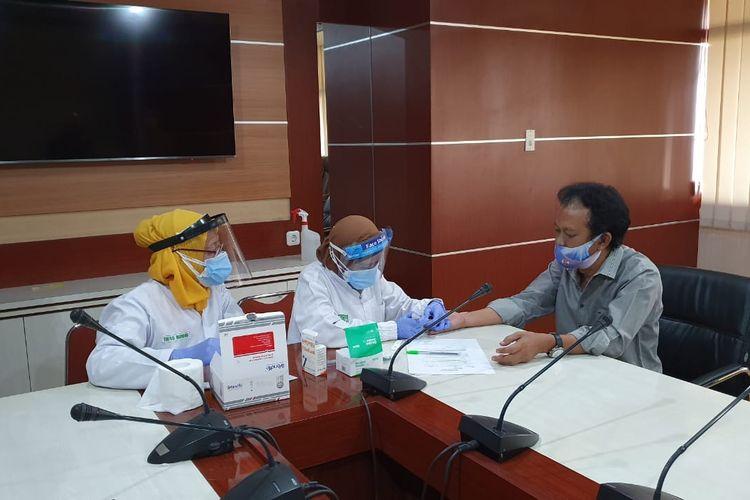 Legislator DPRD Jateng Samsul Bahri Meninggal, Ruang Fraksi Golkar Disterilisasi