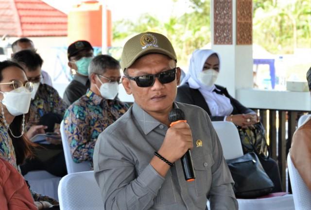 Bambang Hermanto Minta Bendungan Kuningan Dimanfaatkan Untuk Tingkatkan Ekonomi Warga