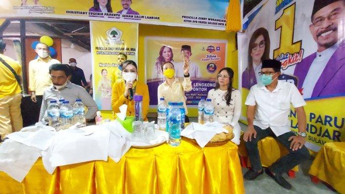 Pilkada Sulut, CEP-Sehan Janjikan Bantuan Usaha Rp.3 Juta Tiap UMKM