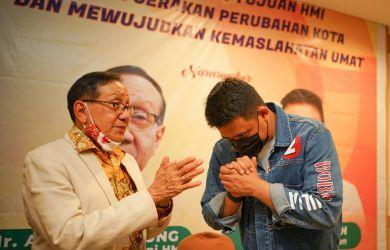 Akbar Tanjung Ajak Keluarga Besar HMI di Kota Medan Pilih Bobby Nasution