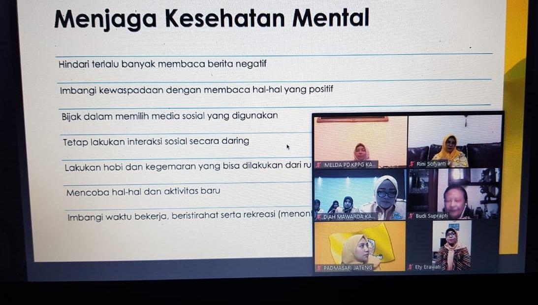 Siasati Dampak COVID-19, KPPG se-Indonesia Gelar Forum Diskusi Virtual