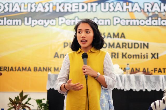 Dorong Percepatan Ekonomi Desa, Puteri Komarudin Dukung OJK Perluas Program BUMDes Center