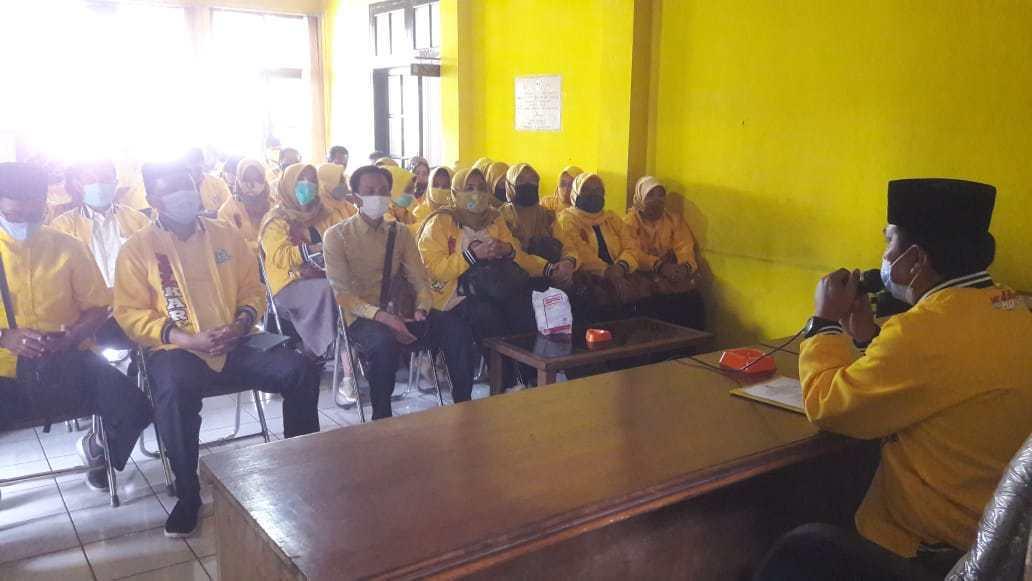 Sidik Jafar Umumkan Susunan Pengurus Baru Golkar Sumedang 2020-2025